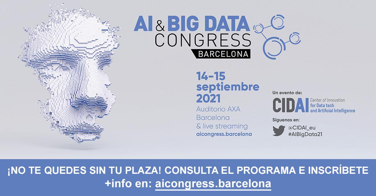 14-15/09/2021 – AI & Big Data Congress 2021