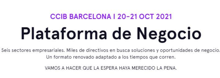 CCIB BARCELONA I 20-21 OCT 2021